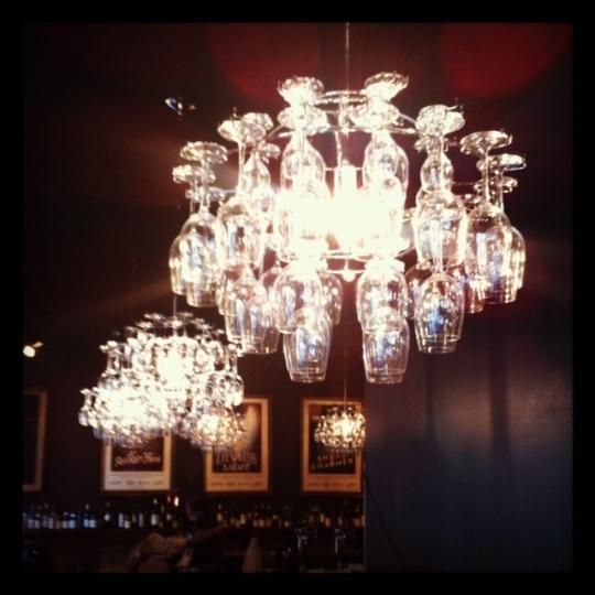 chandelier glasses