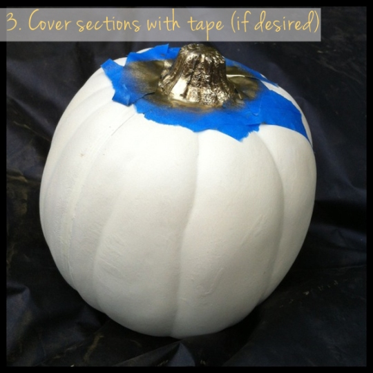 pumpkin makeover diy step 3