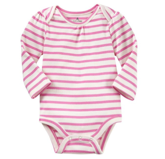 Gap Baby Long Sleeve Printed Bodysuit