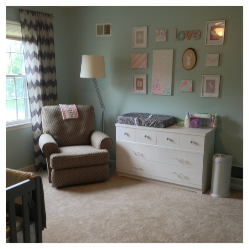 Full Nursery Room with Gallery Wall FINAL Twin girls
