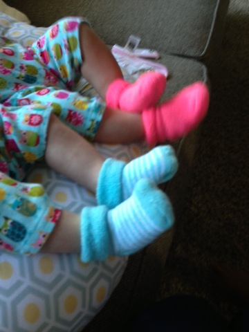 twin socks